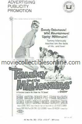 Tammy & the Millionaire Press Book