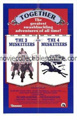 Three Musketeers & Four Musketeers Poster
