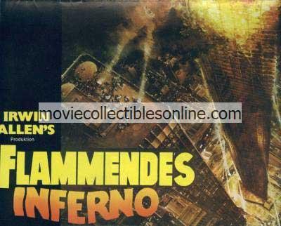 Towering Inferno German Souvenir Program