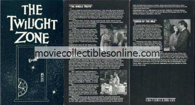 Twilight Zone Beta - Whole Truth, Death Ship, Queen of the Nile